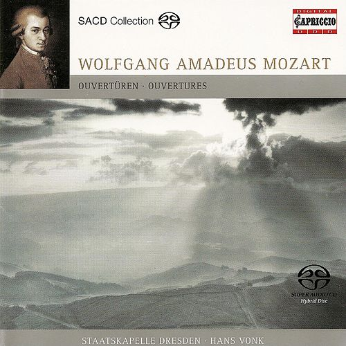 Mozart, W.A.: Overtures by Hans Vonk
