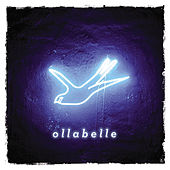 Neon Blue Bird by Ollabelle