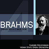 Brahms: Symphony No. 4 in E Minor, Op. 98 by Vienna State Opera Orchestra