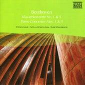 Beethoven: Piano Concertos Nos. 1 and 5 by Stefan Vladar