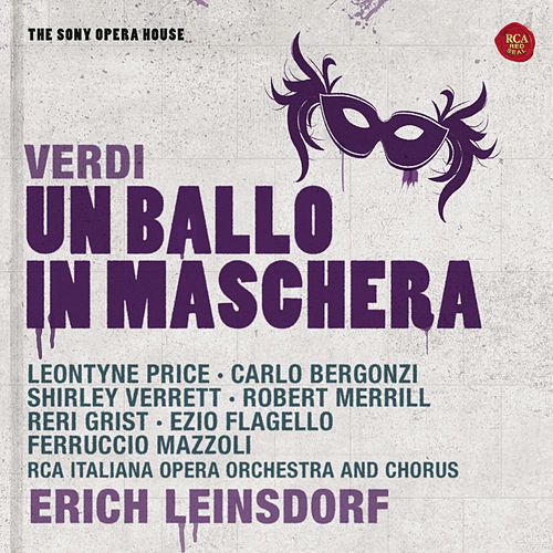 Play & Download Verdi: Un ballo in maschera - The Sony Opera House by Various Artists | Napster