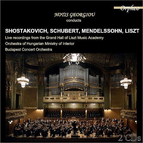 Notis Georgiou conducts Schubert, Liszt, Mendelssohn, Shostakovich by Notis Georgiou