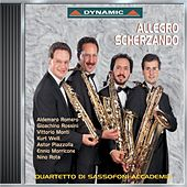Play & Download Allegro Scherzando: Music for Saxophone Quartet by Sassofoni Accademia Quartet | Napster