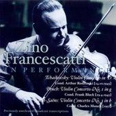 Play & Download Tchaikovsky, P.I.: Violin Concerto / Bruch, M.: Violin Concerto No. 1 / Saint-Saens: Violin Concerto No. 3 (Francescatti) (1943, 1945, 1951) by Various Artists | Napster