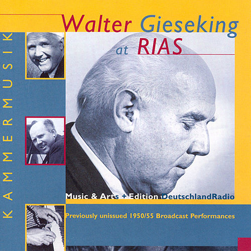 Play & Download Piano Music - Mozart, W.A. / Mendelssohn / Beethoven / Debussy / Ravel / Schubert, F. / Schumann, R. / Brahms / Scriabin (Gieseking) (1950, 1955) by Walter Gieseking | Napster