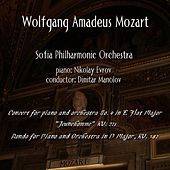 Wolfgang Amadeus Mozart: Concerts for Piano by Sofia Philharmonic Orchestra