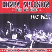 Konpa explosion, vol. 1 (Live) by Various Artists