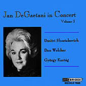 Jan DeGaetani in Concert, Vol. 3 by Jan DeGaetani