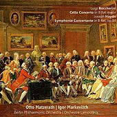 Play & Download Boccherini: Cello Concerto in B-Flat Major - Haydn: Symphonie Concertante in B-Flat, Op. 84 by Various Artists | Napster