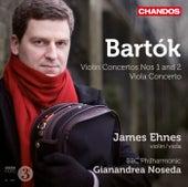 Bartok: Violin Concertos Nos. 1 & 2 - Viola Concerto by James Ehnes