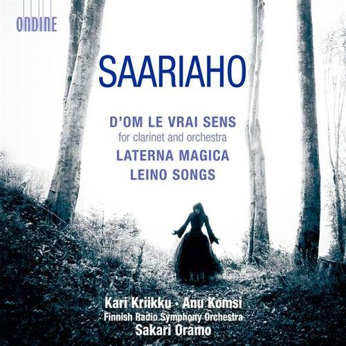 Saariaho: D'OM LE VRAI SENS - Laterna Magica - Leino Songs by Various Artists