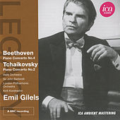 Play & Download Beethoven: Piano Concerto No. 4 - Tchaikovsky: Piano Concerto No. 2 by Emil Gilels | Napster