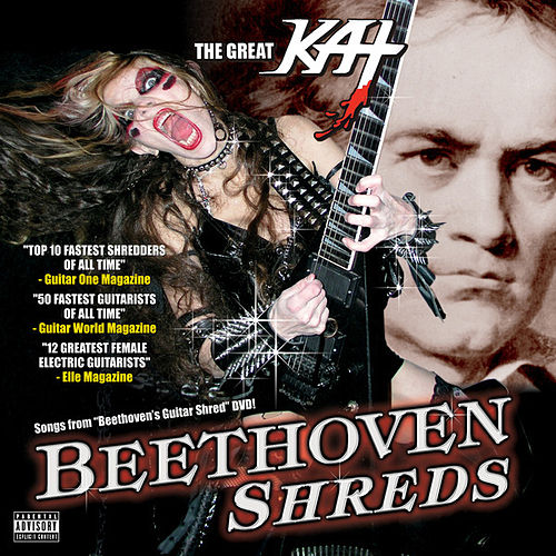 Play & Download Beethoven Shreds by The Great Kat | Napster