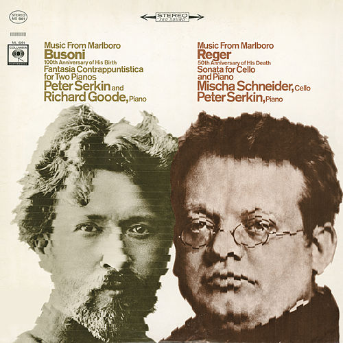 Music from Marlboro - Busoni: Fantasia Contrappuntistica for Two Pianos / Reger: Cello Sonata by Peter Serkin