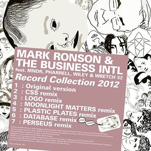 Kitsuné: Record Collection 2012 by Mark Ronson