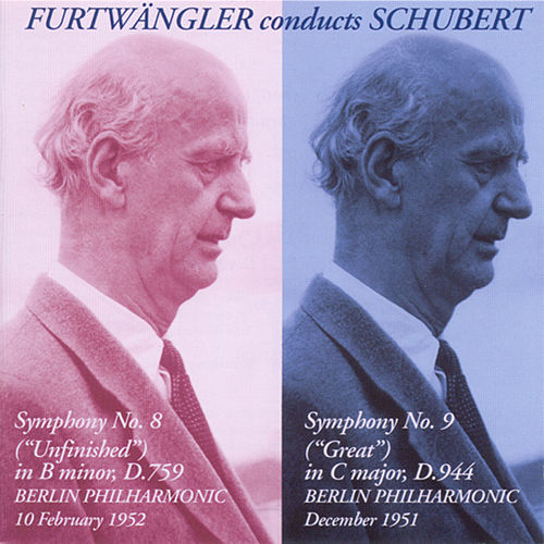 Schubert, F.: Symphonies Nos. 8, 'Unfinished' and 9, 'Great' (Berlin Philharmonic, Furtwangler) (1951-1952) by Wilhelm Furtwängler