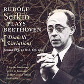Beethoven: Piano Sonata No. 30 / 33 Variations in C Major On A Waltz by Diabelli (Serkin) (1954) by Rudolf Serkin
