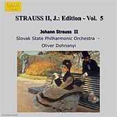 Play & Download Strauss Ii, J.: Edition - Vol.  5 by Oliver Dohnanyi | Napster