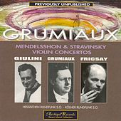 Mendelssohn & Stravinsky: Violin Concertos by Various Artists