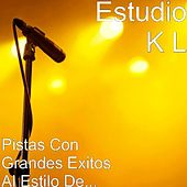 Play & Download Pistas Con Grandes Exitos Al Estilo De... by Estudio K L | Napster