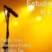 Pistas Con Grandes Exitos Al Estilo De... by Estudio K L