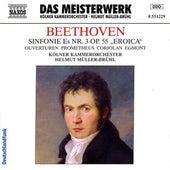 Play & Download Beethoven: Symphony No. 3 / Prometheus Overture / Coriolan Overture / Egmont Overture by Helmut Muller-Bruhl | Napster