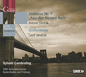 Play & Download Dvorak: Sinfonie Nr. 9 'Aus der Neuen Welt' - Janacek: Sinfonietta by Sylvain Cambreling   Napster
