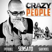 Play & Download Crazy People (DJ Buddha Clean Version) - Single by Sensato Pitbull Sak Noel | Napster