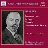 Sibelius: Symphony No. 4 / En Saga (Beecham) (1935-1939) von Thomas Beecham