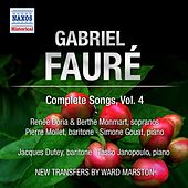 Play & Download Faure: Complete Songs, Vol. 4 by Various Artists | Napster