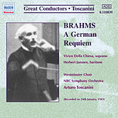 Brahms: German Requiem by Arturo Toscanini