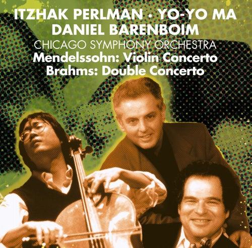 Play & Download Brahms: Double Concerto / Mendelssohn: Violin Concerto by Daniel Barenboim | Napster