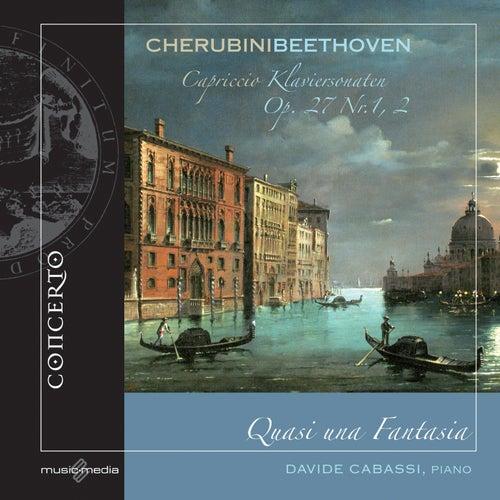 Play & Download Cherubini: Capriccio - Beethoven: Klaviersonaten, Op. 27, Nos. 1, 2 by Davide Cabassi | Napster