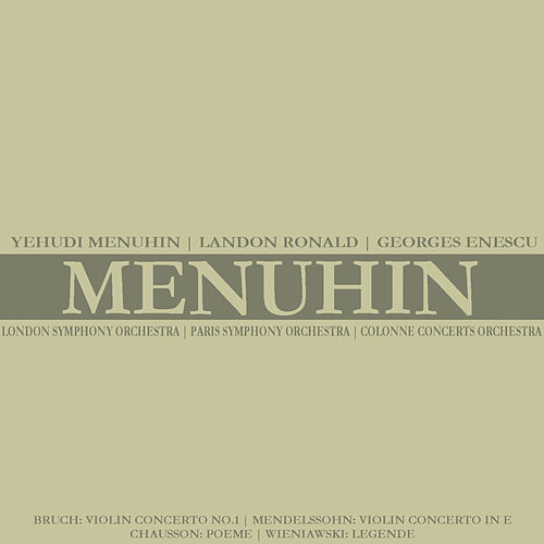 Play & Download Bruch: Violin Concerto No. 1 - Mendelssohn: Violin Concerto in E by Yehudi Menuhin | Napster