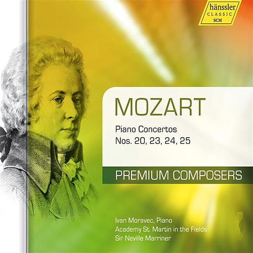 Play & Download Mozart: Piano Concertos Nos. 20, 23, 24, 25 by Ivan Moravec | Napster