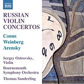 Russian Violin Concertos by Thomas Sanderling