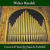 Play & Download Canon in D Major for Organ: Pachelbel (New Version) by Walter Rinaldi | Napster