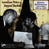 Leontyne Price and Samuel Barber: Historic Performances by Leontyne Price