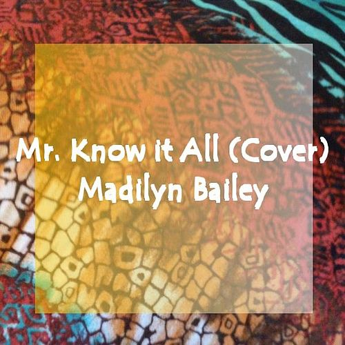 Mr. Know It All (Cover) - Single de Madilyn Bailey