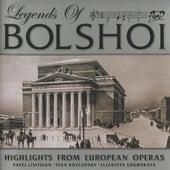 Legends of Bolshoi: Highlights from Russian Operas (1947-1957) by Ivan Kozlovsky