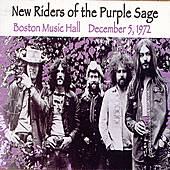 Boston Music Hall: December 5, 1972 by New Riders Of The Purple Sage