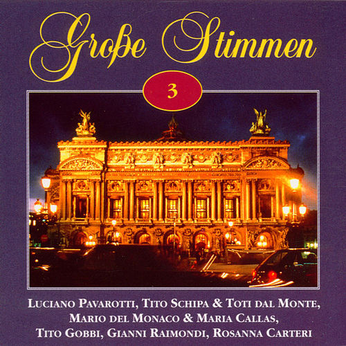 Grosse Stimmen Vol. 3 by Various Artists