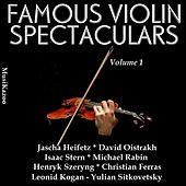 Famous Violin Spectaculars (Vol. 1) by Various Artists