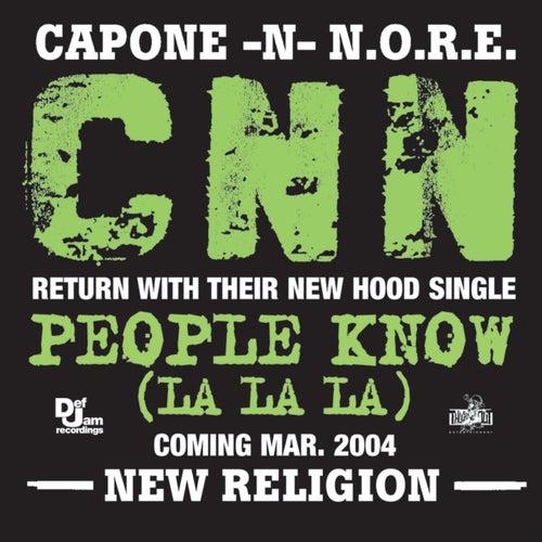 Play & Download People Know (La La La) (e-single) by Capone-N-Noreaga | Napster