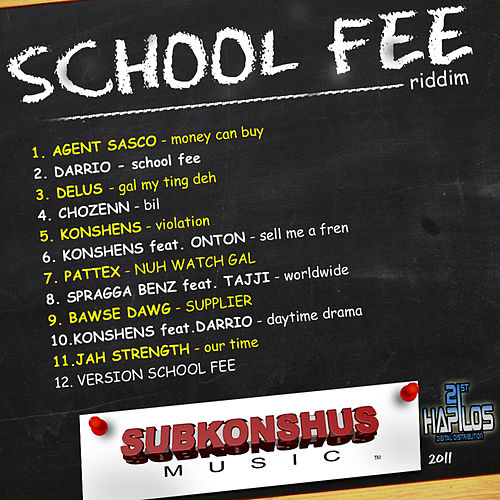 Play & Download School Fee Riddim by Various Artists | Napster
