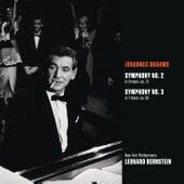 Brahms: Symphony No. 2 in D major, op. 73; Symphony No. 3 in F major, op. 90 by Leonard Bernstein