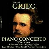Grieg Vol. 1 - Piano Concerto by Various Artists
