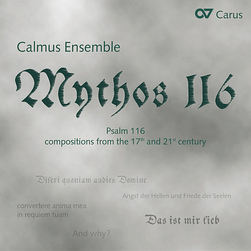 Mythos 116 by Calmus Ensemble