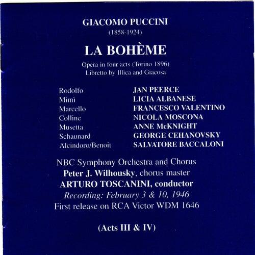 Puccini: La Bohème by Jan Peerce