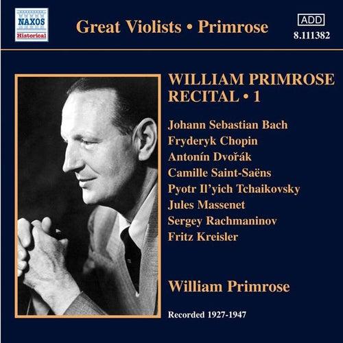 Primrose: Recital, Vol. 1 by Various Artists